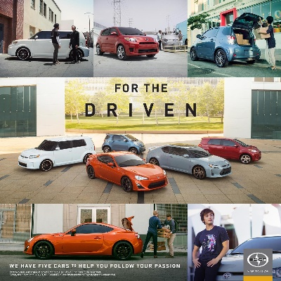 DREAMING AND DRIVING: SCION BLENDS BOTH IN NEW BRAND CAMPAIGN