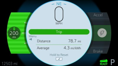 DRIVERS CAN PUSH RANGE BOUNDARIES WITH SELECTABLE ONE-PEDAL DRIVING MODES