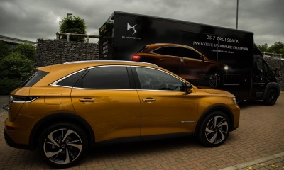 Special DS 7 Crossback Goes On UK Tour With DS Virtual Vision