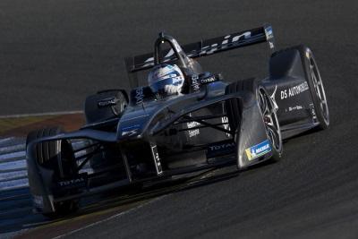 DS Virgin Racing Concludes Positive Formula E Testing Programme