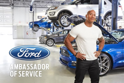 Dwayne Johnson Returns As Ford Ambassador Of Service In Second Ad Campaign
