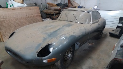 E-TYPE BARN FINDS READY FOR RESURRECTION AT CCA