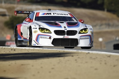 Edwards And Tomczyk Race The No. 24 BMW M6 To A Thrilling Victory At Laguna Seca