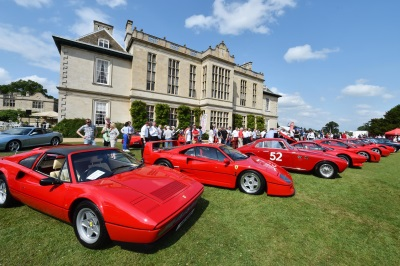 STUNNING DISPLAY AT THE EFG FERRARI OWNERS' CONCOURS