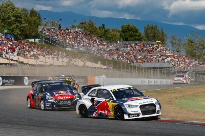 EKSTROM WINS BARCELONA RX AND REGAINS CHAMPIONSHIP LEAD