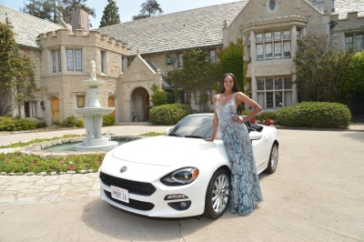 EUGENA WASHINGTON, PLAYBOY'S 2016 PLAYMATE OF THE YEAR, WITH ALL-NEW 2017 FIAT 124 SPIDER