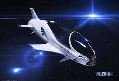EuropaCorp and Lexus Unveil 28th Century Spacecraft 'SKYJET' in Upcoming Sci-Fi Epic: Valerian and the City of a Thousand Planets