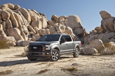 TOUGHEST, SMARTEST, MOST CAPABLE F-150 EVER IS TRUCK TREND MAGAZINE'S 2015 PICKUP TRUCK OF THE YEAR