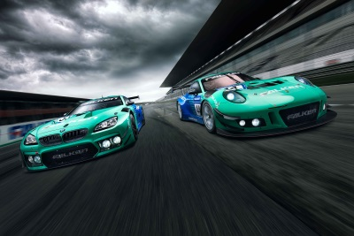 Falken's Dynamic Duo: Porsche And BMW To Tackle The 24H-Race At Nürburgring