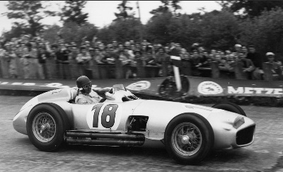 Global interest building for Fangio Mercedes-Benz Grand Prix Car