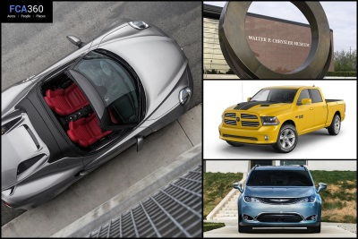 FCA360 HIGHLIGHTS NEW RAM, ALFA ROMEO MODELS; CHRYSLER PACIFICA EXPANDS PARTNERSHIP WITH GOOGLE
