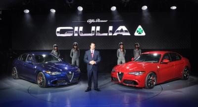FCA Canada: All-new 2017 Alfa Romeo Giulia Quadrifoglio Makes Canadian Debut at 2016 CIAS