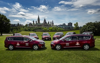 FCA Canada: Made-In-Canada 2017 Chrysler Pacifica Named Official Vehicle Of Canada Day 2017