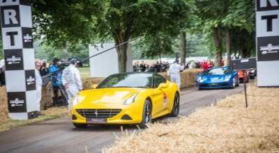 Ferrari 70Th Anniversary At The Goodwood Festival Of Speed