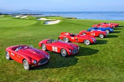 Pebble Beach Concours Hosts Premier Ferrari Celebration