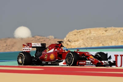 Two days of testing with Alonso in Bahrain