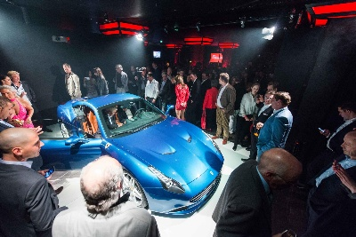 Germany celebrates the Première of the Ferrari California T in Frankfurt