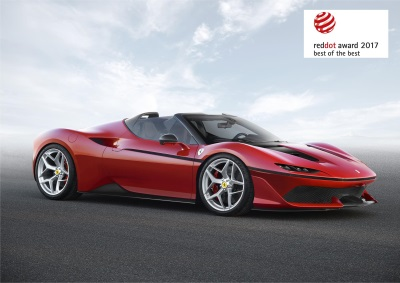 Ferrari Takes The Red Dot: Best Of The Best Design Award For The Third Year Running