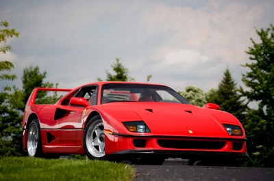 FERRARI F40 NAMED THE MOST ICONIC SUPERCAR EVER
