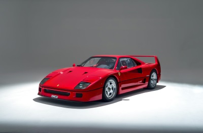 Ferrari F40 Heads Seventy Car Line-Up For Exclusive Salon Privé Sale