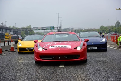 Ferrari Owners Club GB Celebrate Their 50Th Anniversary With A Special Parade Across The Forth Road Bridge