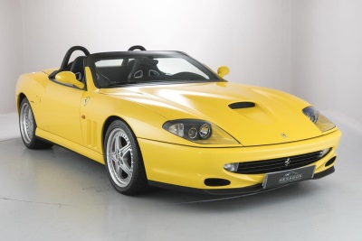 EXTREMELY RARE PAIR OF OPEN TOP MODERN CLASSIC FERRARIS GO ON SALE AT HEXAGON