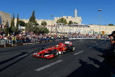 60,000 See Ferrari In Jerusalem