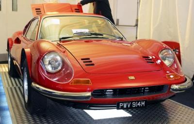 Ferraris Top The Podium At Race Retro Sales
