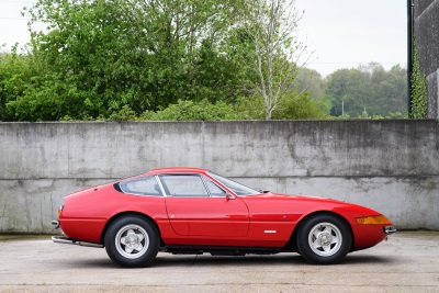 Rock And Roll Royalty Ferrari Daytona Heads To Silverstone Classic
