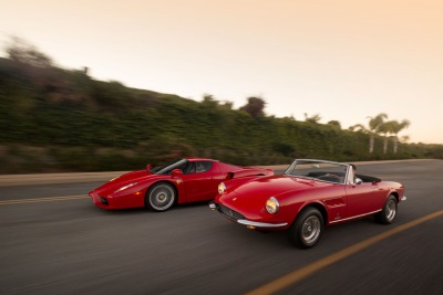 PAIR OF COVETED FERRARIS LEAD SUPERLATIVE ROSTER OF EUROPEAN SPORTS CARS  AT AUCTIONS AMERICA'S CALIFORNIA SALE