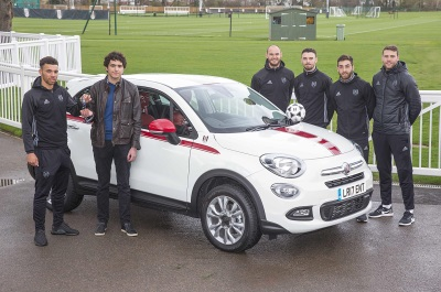 Winner Receives Two-Week Loan Of Fiat 500X Fulham FC Special Edition