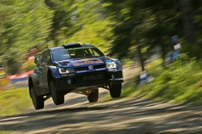 FINNISH HERO: JARI-MATTI LATVALA WINS HIS HOME RALLY WITH VOLKSWAGEN