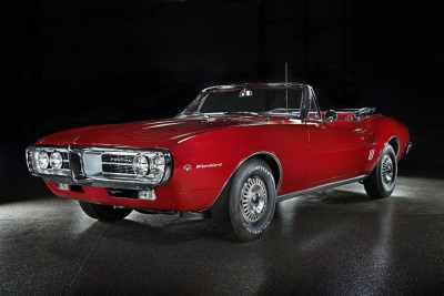 Barrett-Jackson Las Vegas To Feature Iconic American Muscle, Including First Two Pontiac Firebirds