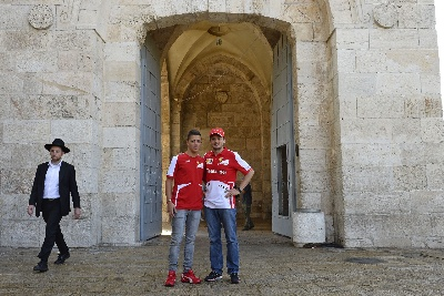 FISICHELLA IN JERUSALEM: 'A WONDERFUL EXPERIENCE'