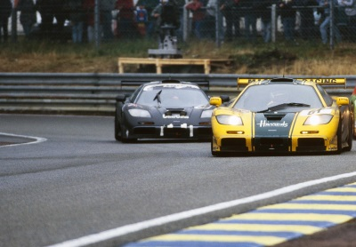 FAMOUS FIVE McLAREN F1 GTR FINISHERS TO BE REUNITED AT LE MANS TWO DECADES AFTER DOMINANT RESULT