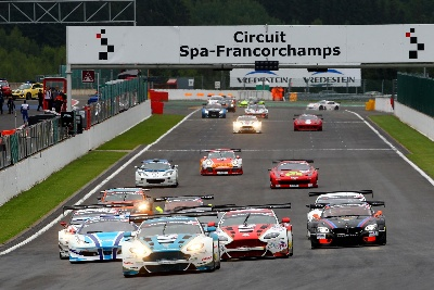 FIVE TROPHIES FOR ASTON MARTIN AT SPA