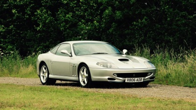 FOOTBALL LEGEND'S FERRARI SET TO BE A WIN AT AUCTION