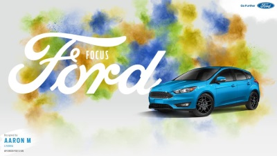 WANT TO DESIGN AN AD FOR TIMES SQUARE OR LA? FORD IS GIVING CONSUMERS THE CHANCE
