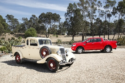 FORD CELEBRATES AUSSIE UTE'S 80TH ANNIVERSARY AS THE PIONEER OF THE COMPANY'S GLOBAL TRUCK LEADERSHIP