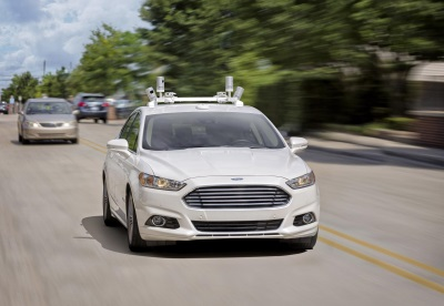 FORD TARGETS FULLY AUTONOMOUS VEHICLE FOR RIDE SHARING IN 2021