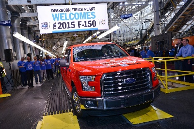 FORD BEGINS BUILDING ALL-NEW F-150; CUSTOMER INTEREST FOR TRUCK AT RECORD LEVELS