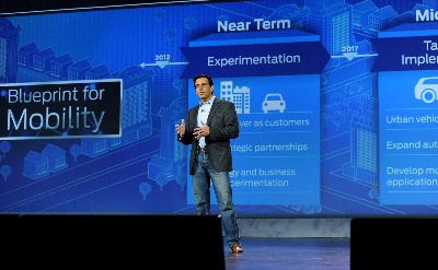 FORD AT CES ANNOUNCES SMART MOBILITY PLAN AND 25 GLOBAL EXPERIMENTS DESIGNED TO CHANGE THE WAY THE WORLD MOVES
