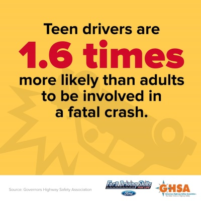 NEW REPORT FUNDED BY FORD SPOTLIGHTS DECREASE IN TEEN DEATHS SINCE 2004 BUT STILL SHOWS RISKS FOR OLDER TEENS