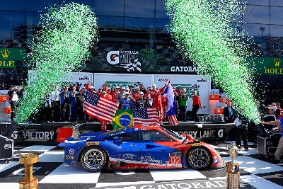 FORD ECOBOOST POWERS CHIP GANASSI RACING TO VICTORY IN ROLEX 24 AT 53RD RUNNING OF DAYTONA ENDURANCE CLASSIC