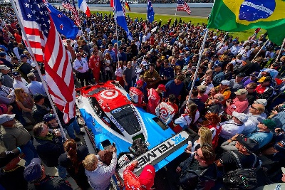 FORD ECOBOOST POWERS THREE ENDURANCE-RACING WINS, SEVEN PODIUMS IN ROOKIE UNITED SPORTSCAR CHAMPIONSHIP SEASON