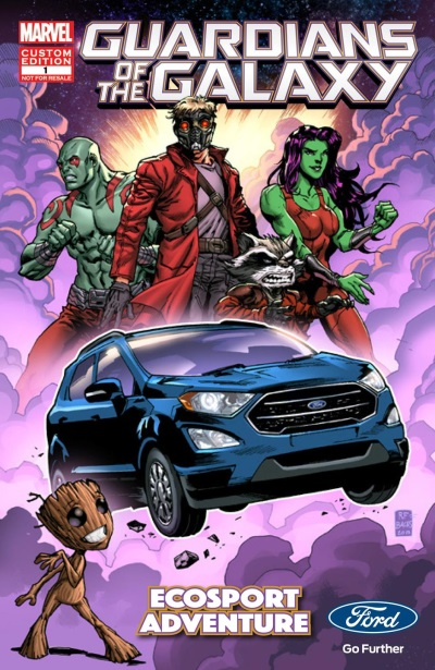 All-New Ford Ecosport Rockets Into Marvel Studios' 'Guardians Of The Galaxy Vol. 2'