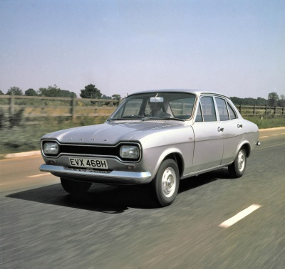 ICONIC ESCORT NAMED BRITAIN'S FAVOURITE CLASSIC FORD