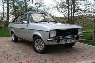 TIME-WARP FORD ESCORT TAKES CCA BACK TO THE 1970s