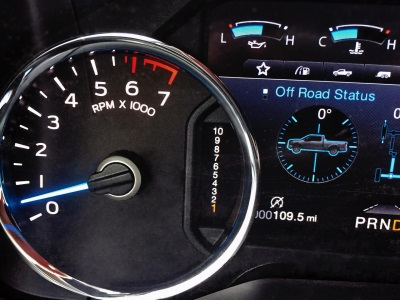 10-SPEED CLUSTER DISPLAY FOR 2017 F-150 IS THE NEW LAUNCH COUNTDOWN