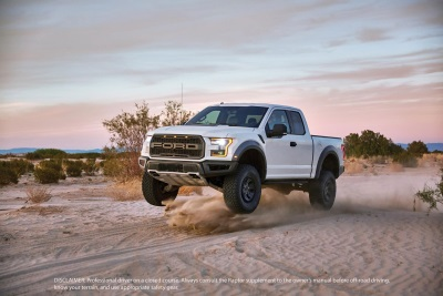 VIDEO OF ALL-NEW FORD F-150 RAPTOR SHOWCASES MOST CAPABLE FACTORY SHOCK ABSORBERS EVER ON A PICKUP TRUCK